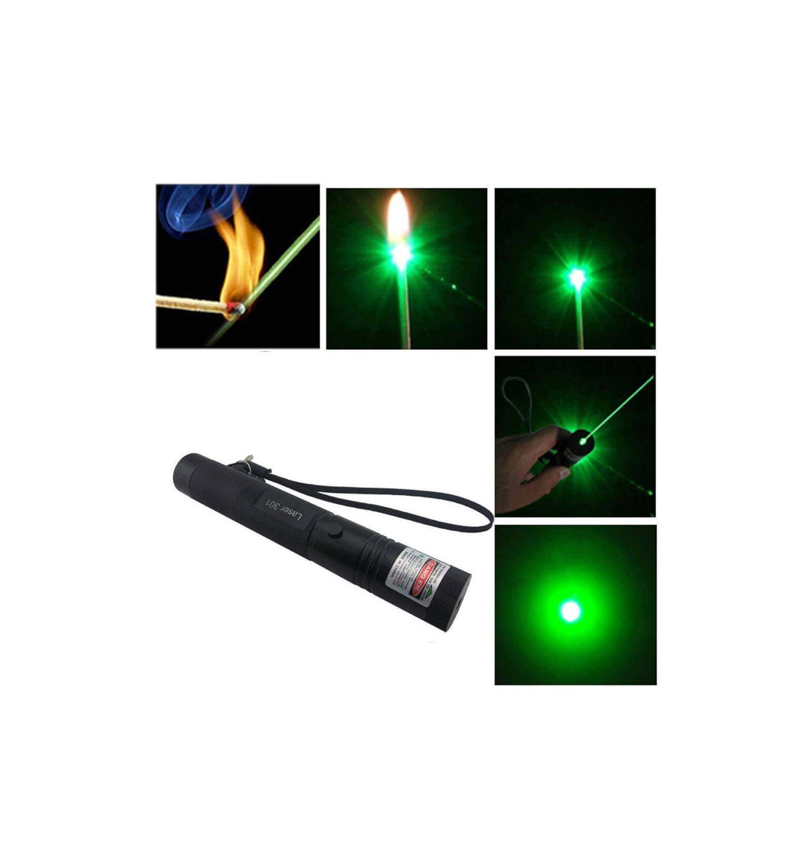 Green Laser 5000mw Rechargeable 532nm For Lasers