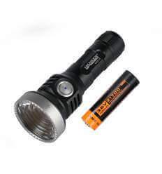 Manker U22 III PM1 , 1500 Lumen, 1000m throw, rechargeable