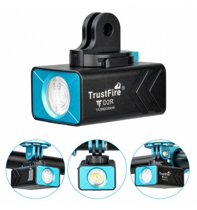 Trustfire D2R Rechargeable Bike Light 450 lumens IP66