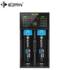 Efan Eizfan C2 2 bay Lithium AA AAA Battery Charger