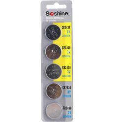 Soshine CR2430 5 per pack