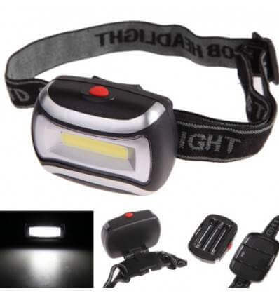 Headlamp Bar LED wide beam 100lumen 3AAA