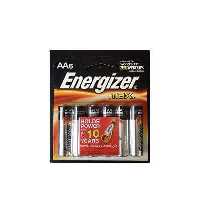 Energizer 6AAA Max battery