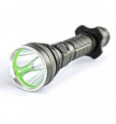 Soshine TC8 LED 900lm 6-Mode White USB Cable Flashlight- Black (1 x 26650)