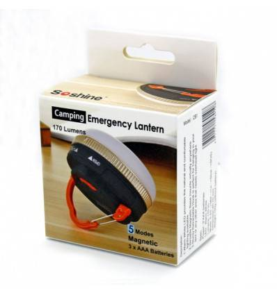 Soshine CB1 170 Lumens LED Camping and Emergency Lantern
