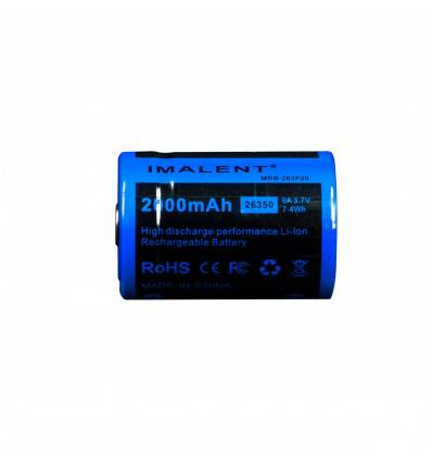 Imalent 26350 mAh battery for BG10