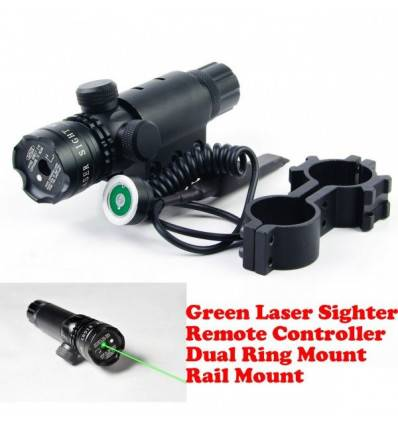 Sight Vane Tactical Green Dot Laser Kit