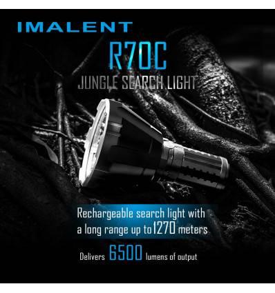IMALENT R70C, 6500LUMEN, 1270M THROW