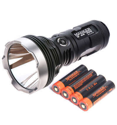 Manker MK35, 1420m Throw, 2550lumen, Rechargeable