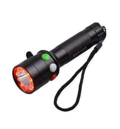 TorchSA Railway Flashlight - Tri-colour