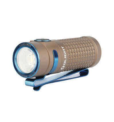 Olight S1R II Desert Tan, 1000 Lumen, 145m throw, rechargeable