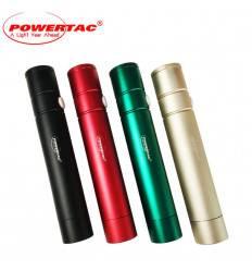 Powertac E8 Rechargeable Flashlight - CREE XP-G2 - 340 Lumens - Uses 1 x 18650