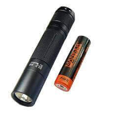 Manker BLF A6 1600 Lumen CREE XP-L LED Flashlight Included USB 18650 Battery CW /NW/WW