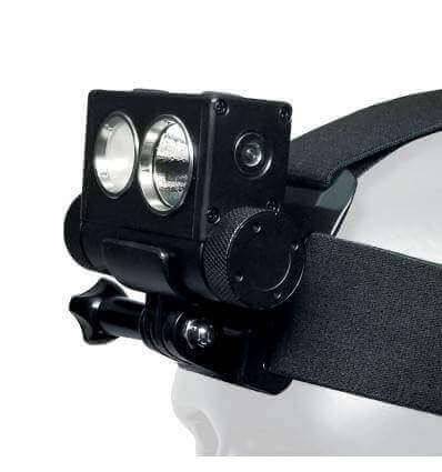 Powertac HL-10 Explorer Rechargeable LED Headlamp - 2500 LM / 204m- CREE XM-L2 U2 - Includes 1 x 18650