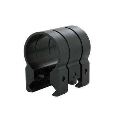 Powertac STRAIGHT-MT Weapon Mount for Universal or Picatinny Rail - Fits the Cadet, E5, E5R, E9, E9R, and Warrior Straight-MT