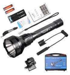 TrustFire T70 2300lumen, 1000m Hunting Flashlight SET