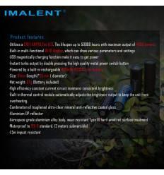 IMALENT LD70 4000 lumen 203m Throw flashlight