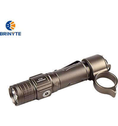Brinyte PT28 Oathkeeper, 1600lumen, 245m Tan Throw Rechargeable