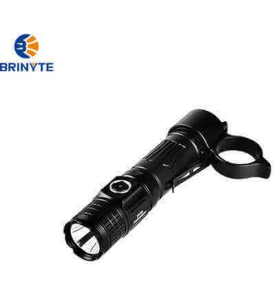 Brinyte PT28 Oathkeeper, 1600lumen, 245m Black Throw Rechargeable