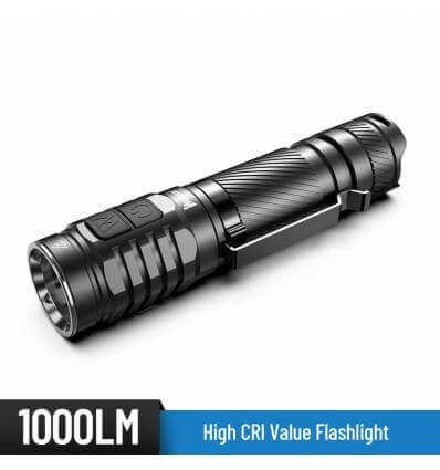 WUBEN TO46R High CRI 1000lm / 115m Flashlight - Rechargeable