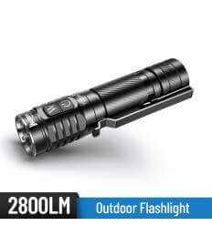 WUBEN TO50R 2800lm / 146m High CRI Flashlight Rechargeable