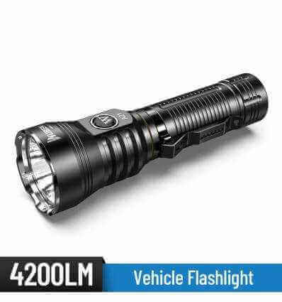 WUBEN A21 4200lm/ 222m Camping Flashlight Rechargeable