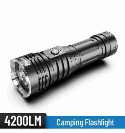 WUBEN T70 4200lm / 250m Flashlight Rechargeable
