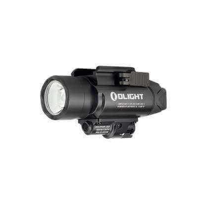 Olight Baldr Pro, 1350 Lumen, 260m throw, 5mW green laser