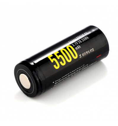 Soshine 26650 5500mAh USB battery