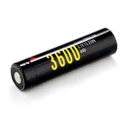 1x Soshine 18650 3600mAh USB Rechargeable Battery : 3600mAh