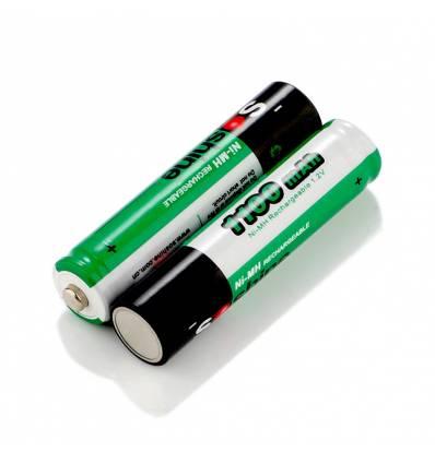 2x Soshine AAA 1100mAh Ni-MH Rechargeable Batteries