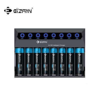 Eizfan Efan Air M8 8 Slot Intelligent Li-ion 3.7V 21700 20700 18650 Charger