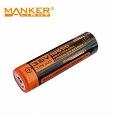 Manker 18650 3100mAh high drain battery