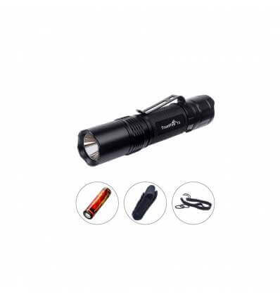 TrustFire T3 1000lm, 137m throw, EDC rechargeable 18650