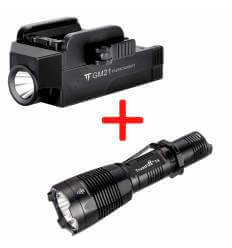 TrustFire GM21 Pistol Light - 510lm, 75m Throw Rechargeable