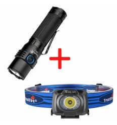 TrustFire MC3, 2500lumen, 360m Throw 21700 Rechargeable