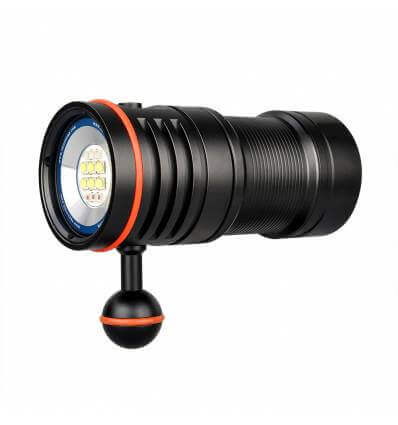 TrustFire DF50 6500 Lumens Video Diving Photoraphy Light