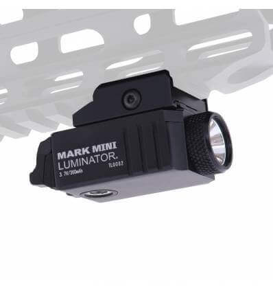 Powertac Mark Mini Luminator 550lm 226m Throw Rechargeable